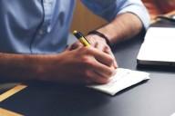 Escrever apontamentos