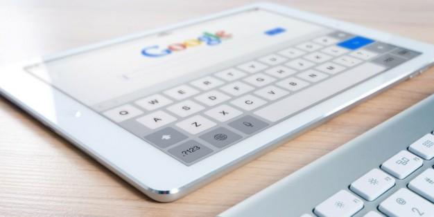 Google em iPad