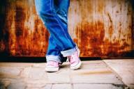 Sapatilhas e Jeans