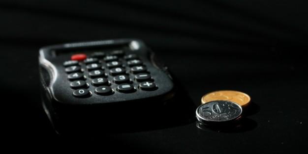 Calculadora e moedas