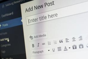 Dashboard do Wordpress