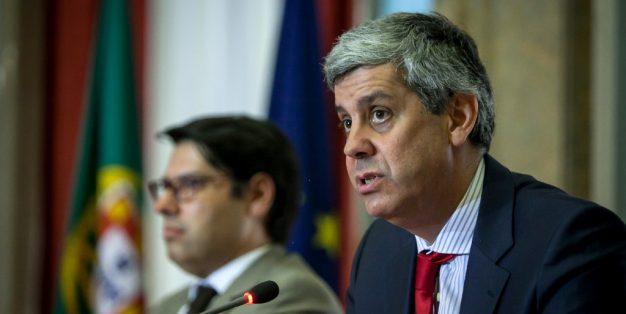 Ministro das Finanças Mário Centeno
