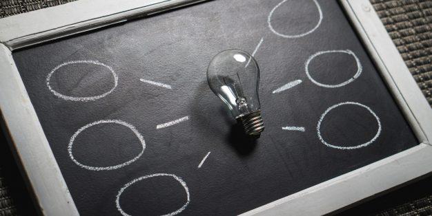 balões para ideias