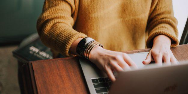 escrever ao computador
